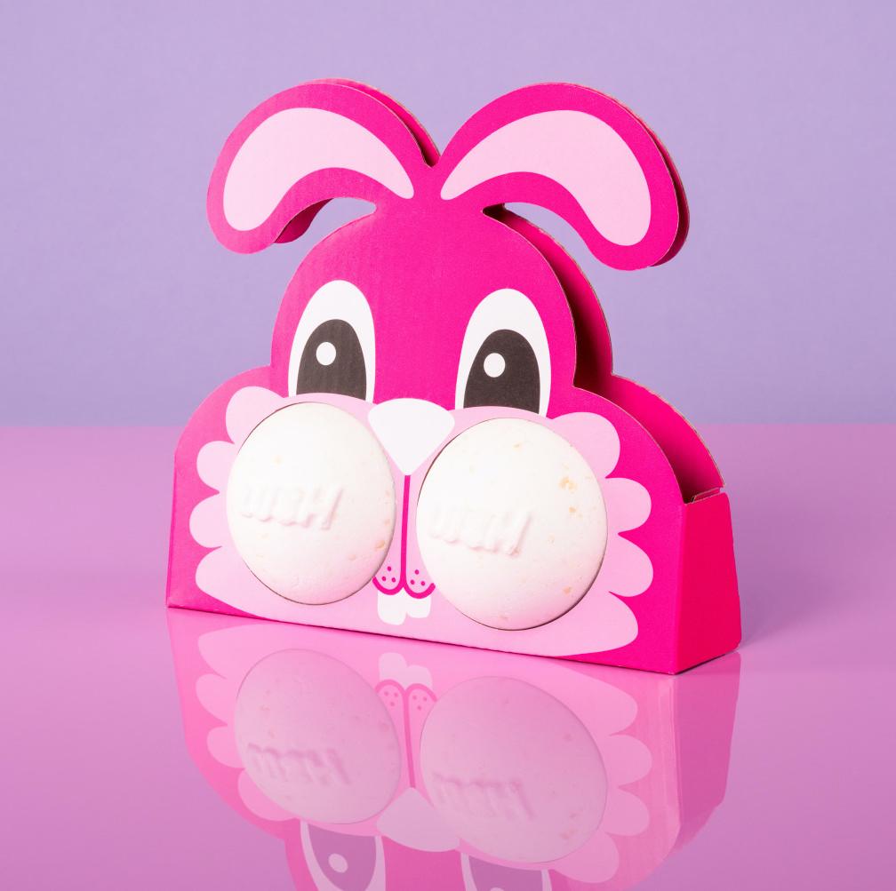 Bunny Buttercheeks bath bomb gift set, £7.50 from Lush