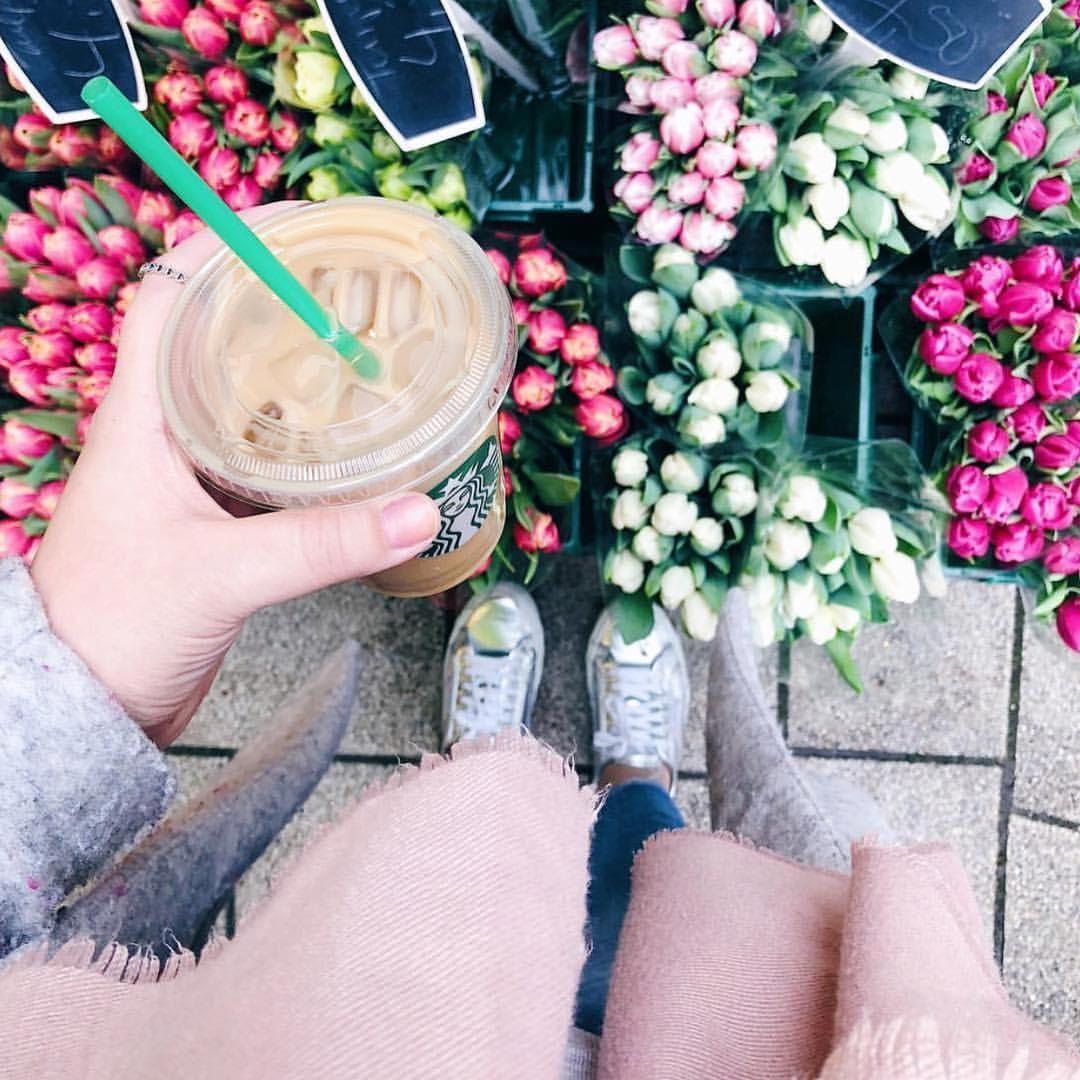 Starbucks iced latte