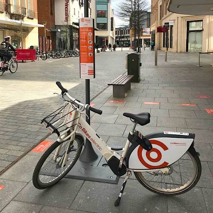 Co Bikes hire, Exeter