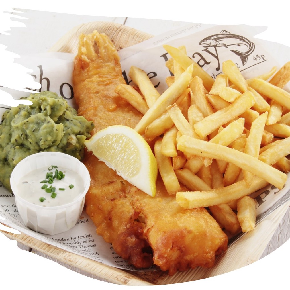 Fish & chips from Lloyd's Lounge