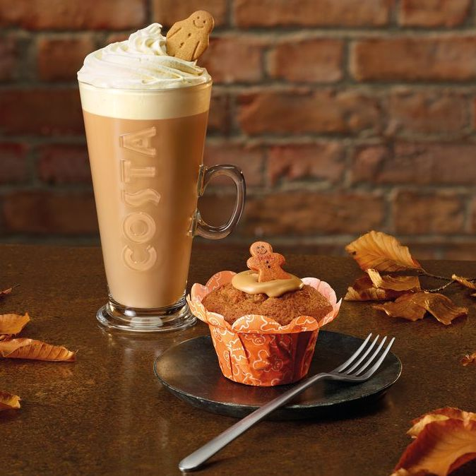 Costa Gingerbread - New Menu